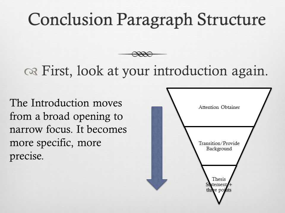 introduction paragraph essay structure Good paragraph construction depends mainly on a) thinking through each idea so that you develop it logically and clearly, and b) then guiding the reader through your thought processes by using appropriate joining expressions this means making the sentences fit together properly most paragraphs are composed of three parts i introduction: gives.