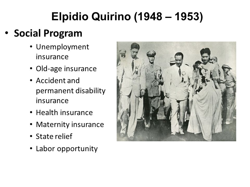 elpidio quirino programs Elpidio quirino (1890-1956), former president of the philippines from 1948 to 1953 ennio quirino visconti (1751-1818), italian archaeologist, a leading expert of his day in the field of ancient roman sculpture.