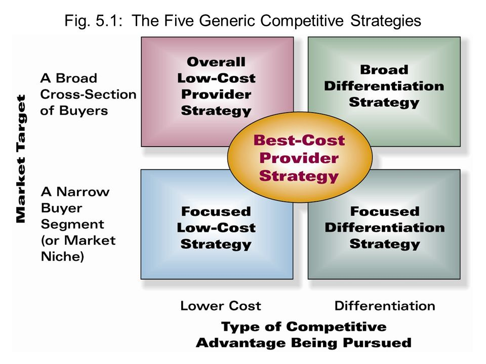 generic competitive strategies essay Student: porter generic strategies and competitive advantage essay biggest impact business strategy and talent break down into components process, recourse.
