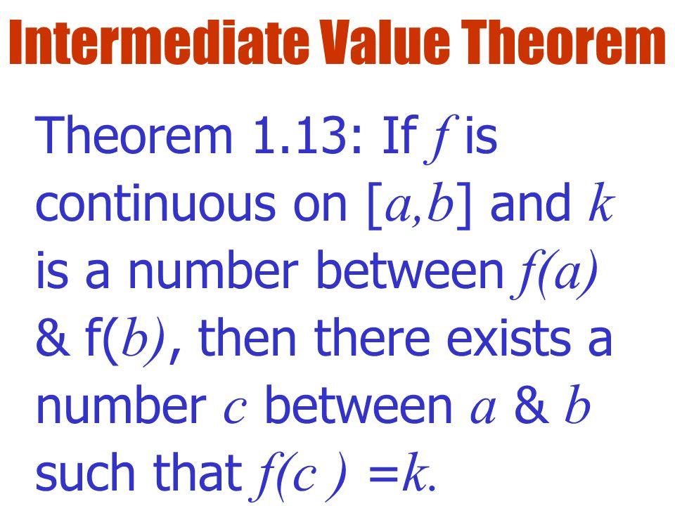 100 intermediate value theorem worksheet intermediate value theorem calculus highlights. Black Bedroom Furniture Sets. Home Design Ideas