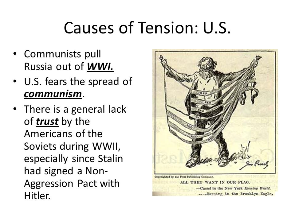 communism and cold war tension essay By 1949 the cold war tensions were at boiling point because of such events such  as  the ussr and america also had opposing ideologies (communism vs.