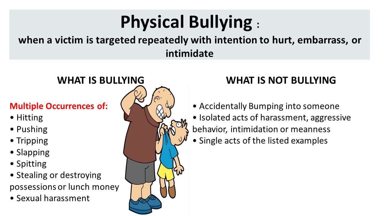 Elegant Physical Bullying : When A Victim Is Targeted Repeatedly With Intention To  Hurt, Embarrass,
