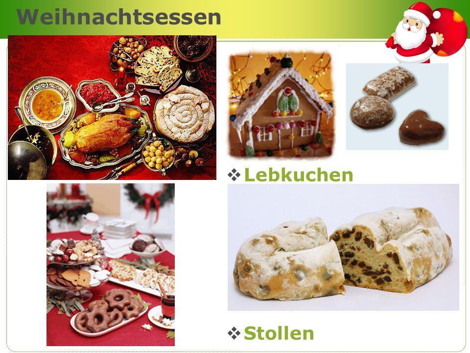 Weihnachtsessen Lebkuchen Stollen Company Logo