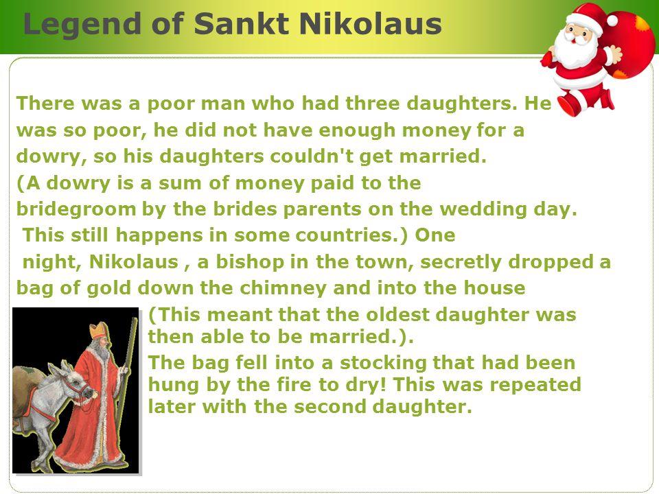 Legend of Sankt Nikolaus
