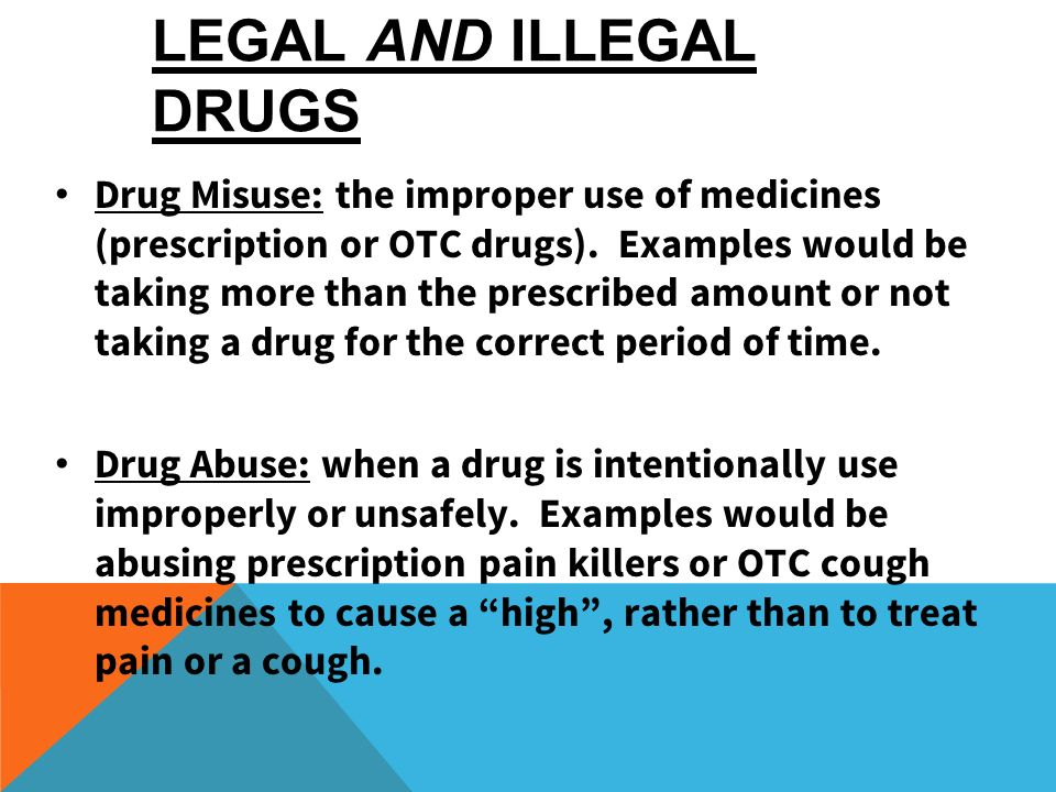 INTRO TO THE DRUG CATEGORIES - ppt video online download
