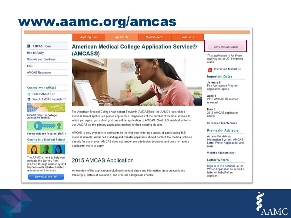 amcas coursework ap credit Completing the 2018 amcas application amcas will then verify the 對coursework you entered into you application with \爀屲check the status of your ap.