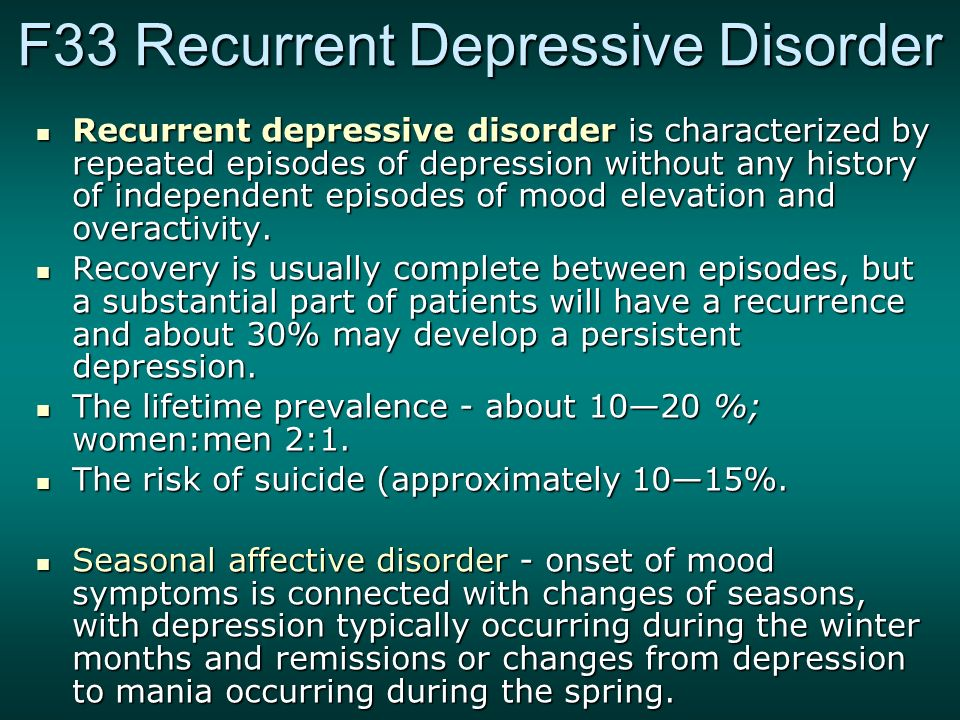 the history of depression illness Sample history and physical  a job at that point in time she developed a deepening depression, and so she went to see dr.