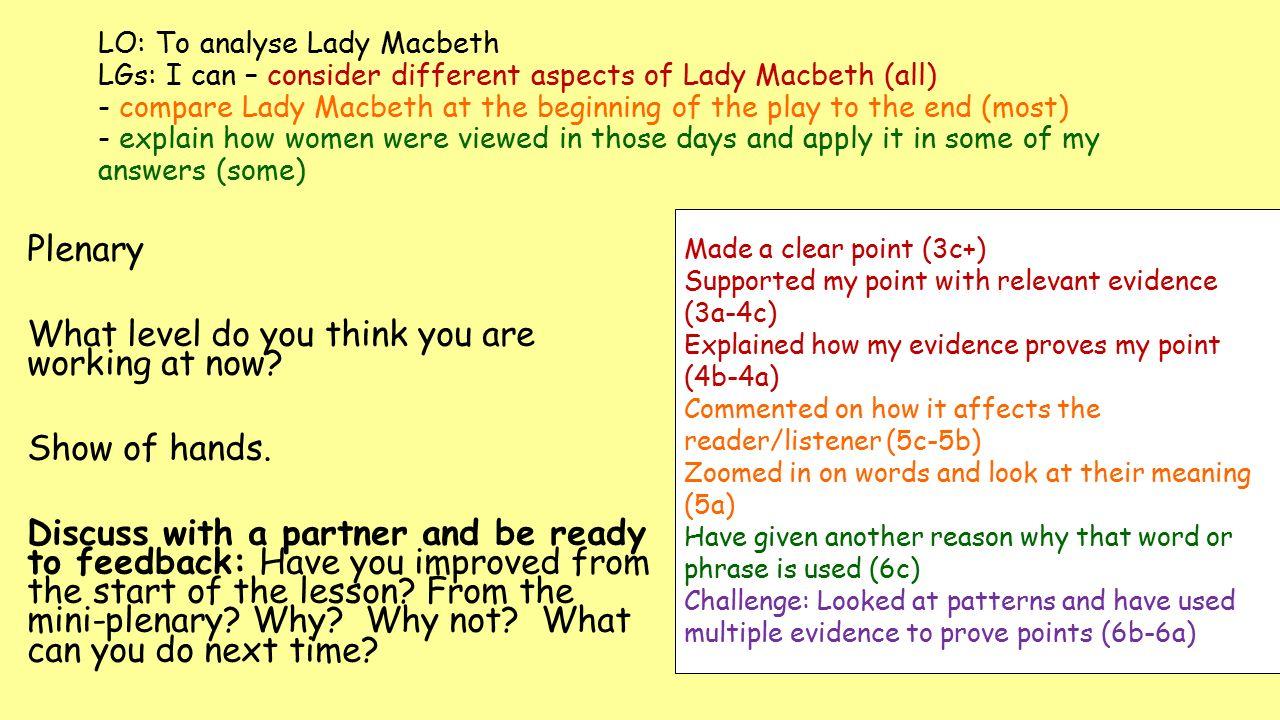 macbeth quotation analysis