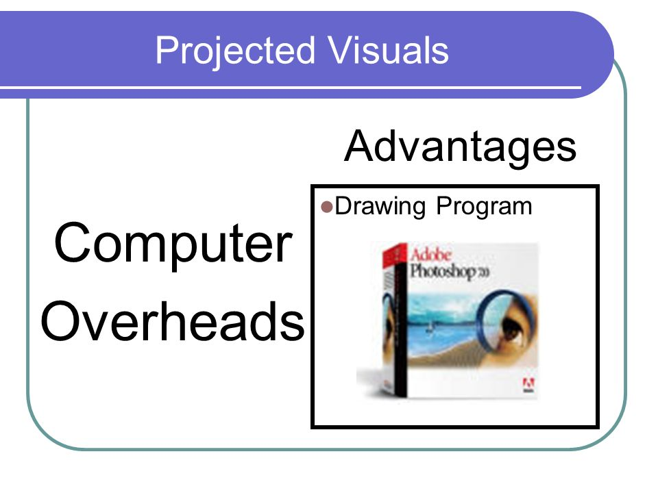 Visuals chapter 6 tim russell ppt video online download for Computer drawing programs
