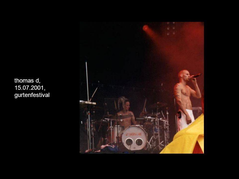 thomas d, 15.07.2001, gurtenfestival