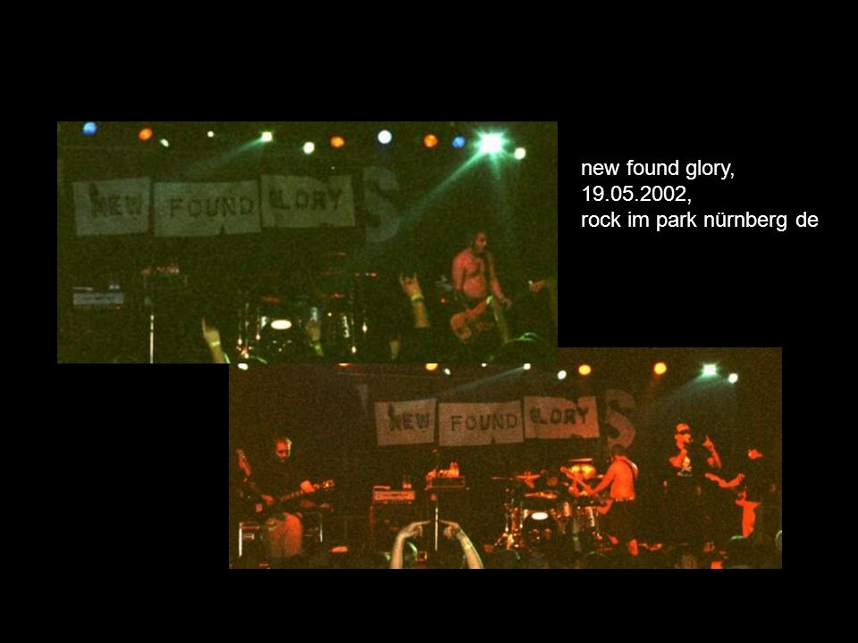 new found glory, 19.05.2002, rock im park nürnberg de