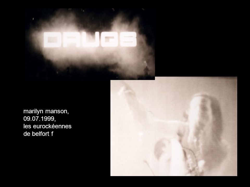 marilyn manson, 09.07.1999, les eurockéennes de belfort f