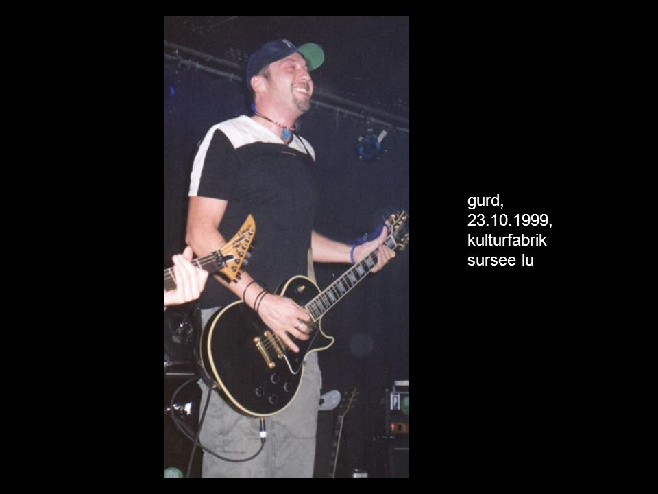 gurd, 23.10.1999, kulturfabrik sursee lu