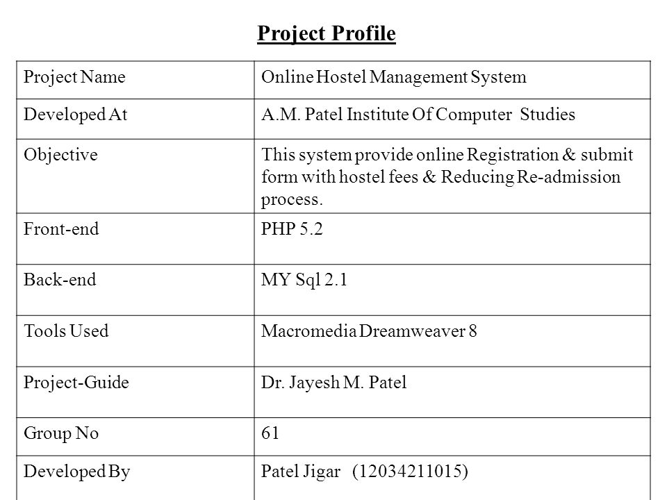 Er diagram for hostel management system ppt wiring library a project report on hostel management system ppt video online download rh slideplayer com hotel management system er diagram ccuart Image collections
