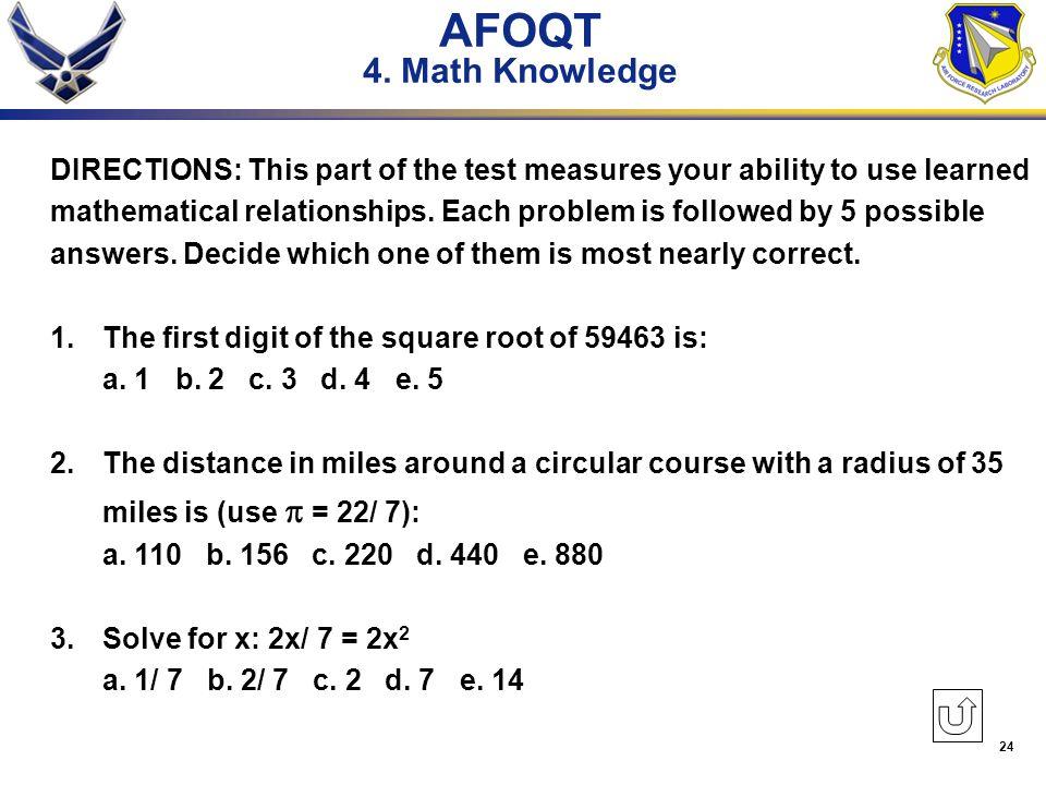 AFOQT: Practice & Study Guide Course - Online Video ...