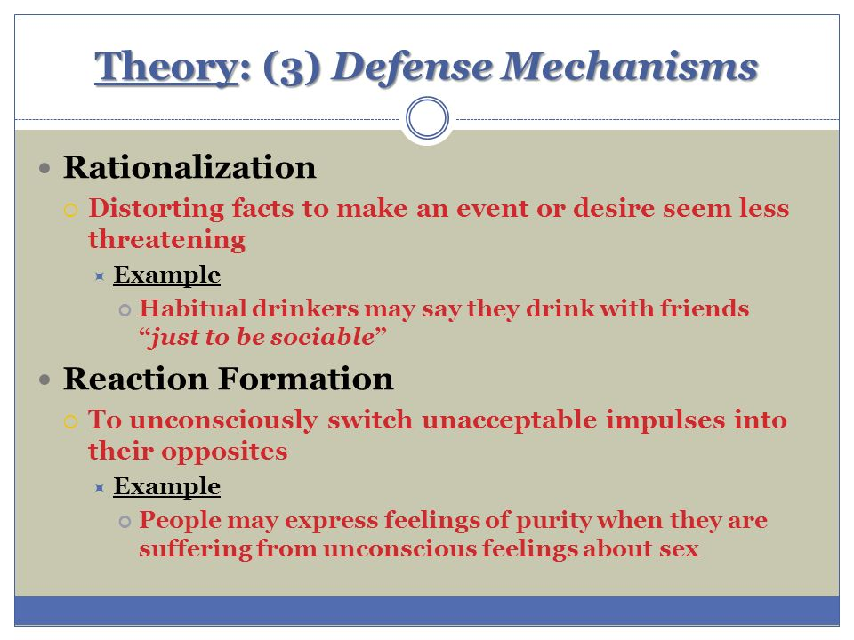 freuds theory of defense mechanism essay Read this essay on horney and freud differences horney believed the defense mechanism use to counter the neuroses were psychoanalysis and the theory of.