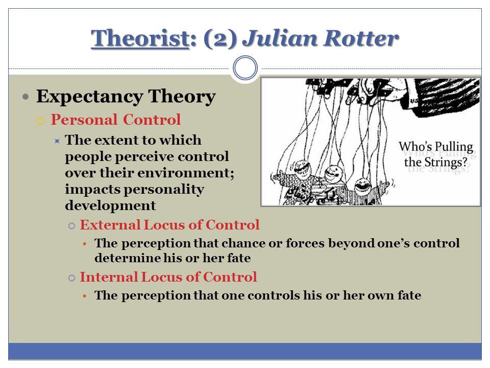 julian rotter walter mischels theories essay Cognitive social therapy - julian rotter & walter mischel's theories.