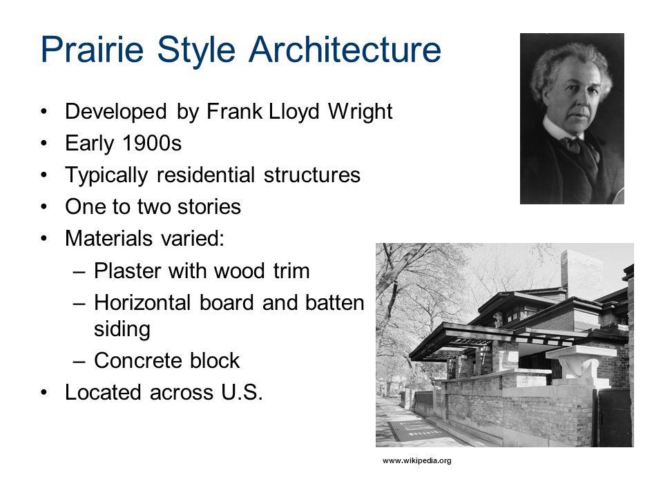 Prairie Style Architecture Ppt Video Online Download