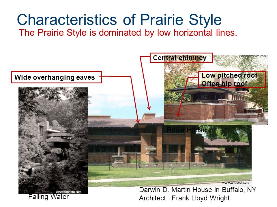 Prairie Style Architecture Ppt Video Online Download