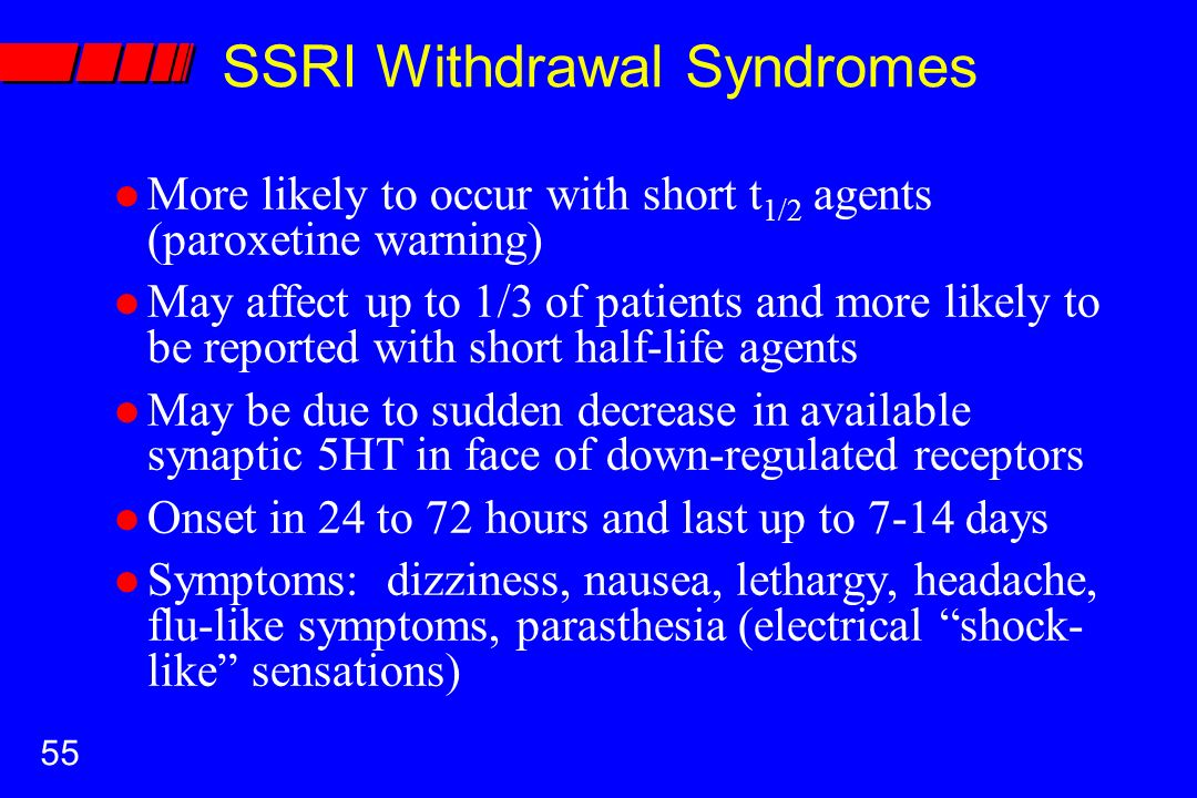 Zoloft withdrawal symptom  Sertraline Withdrawal    Does it go away?