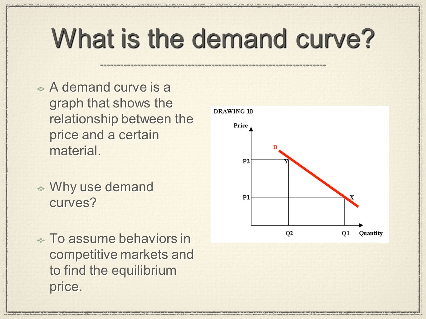 """supply and demand in the market for diapers Demand and supply—it's what economics is about use the """"teacher notes"""" hand-out to explain how the forces of demand and supply set prices in a market."""