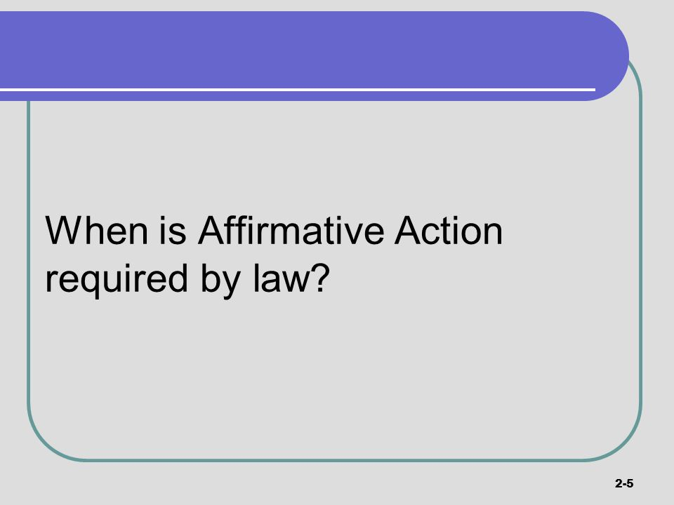affirmative action is a necessary part About affirmative action to determine that they are necessary to perform for minorities and women are a very small part of us.