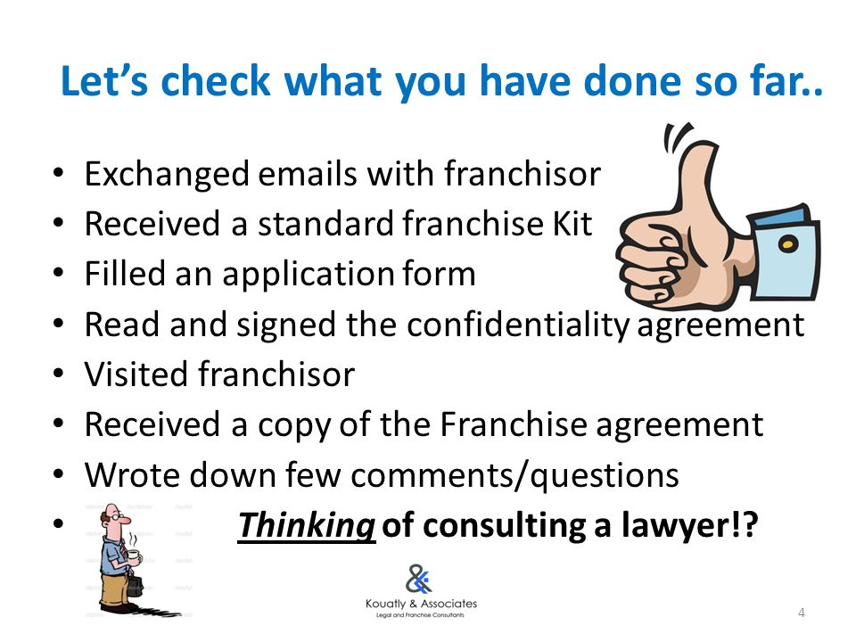 Franchise Negotiation Tactics - Ppt Download