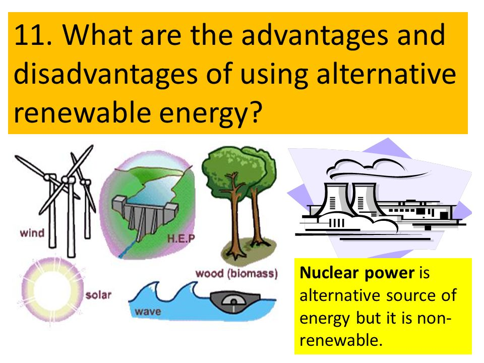Benefits Of Alternative Energy