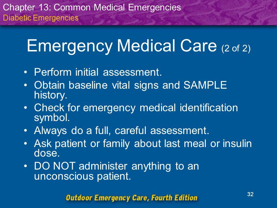 Common Medical Emergencies - ppt download