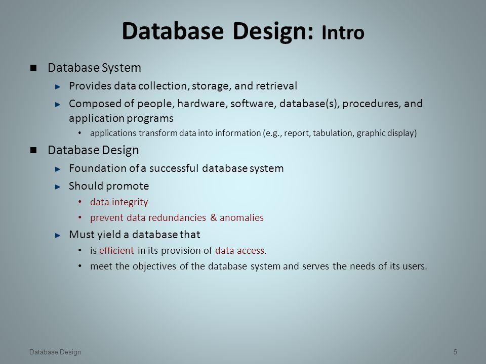 5 database - Database Designer Software