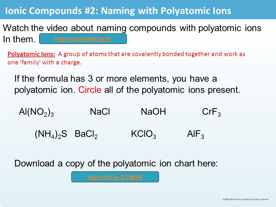 Ionic Bonding And Writing Formulas - Ppt Video Online Download