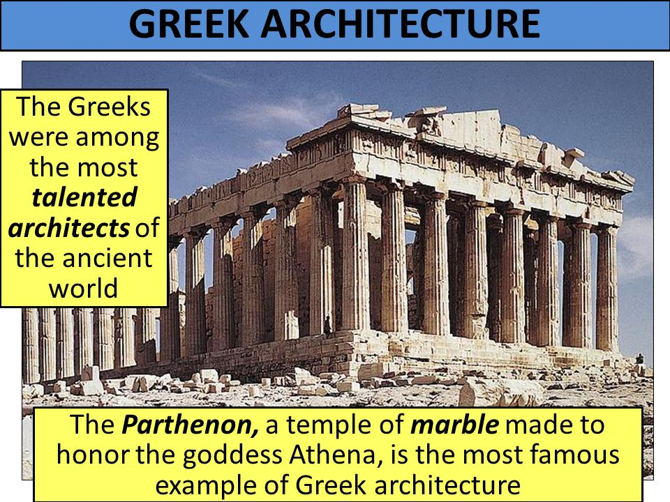 greece architecture ppt history of architecture ancient greek