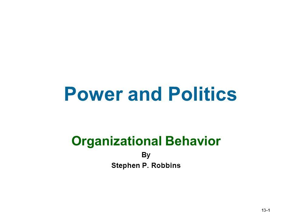 power in organizational behaviour