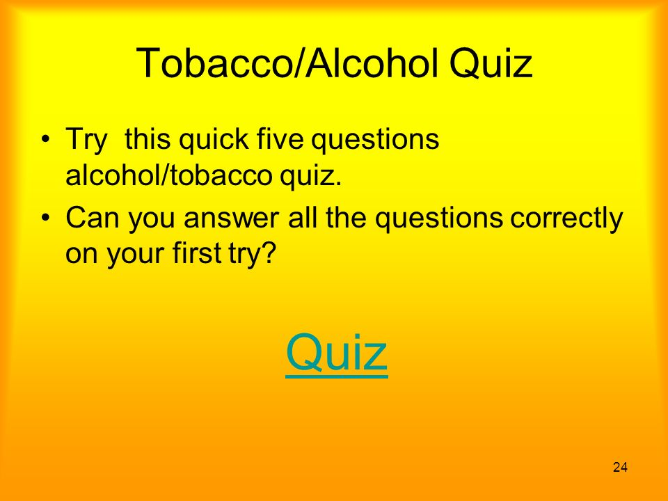 how to know if you are an alcoholic quiz