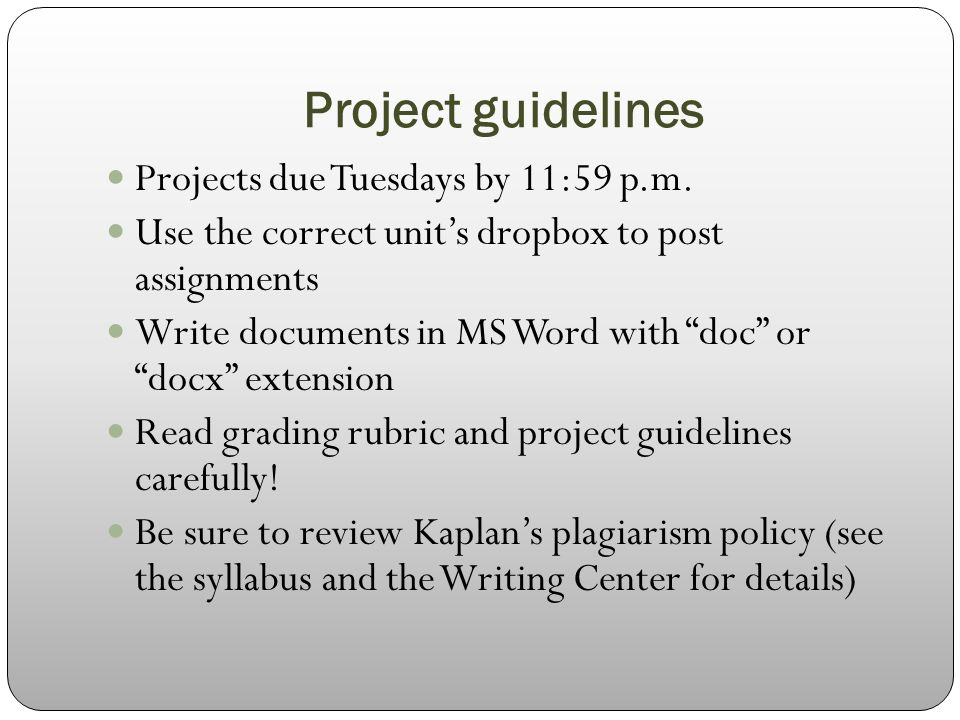 guidelines of m com projects What is project evaluation, how to evaluate projects, what indicators to consider, and how to design a project evaluation plan general guidelines.