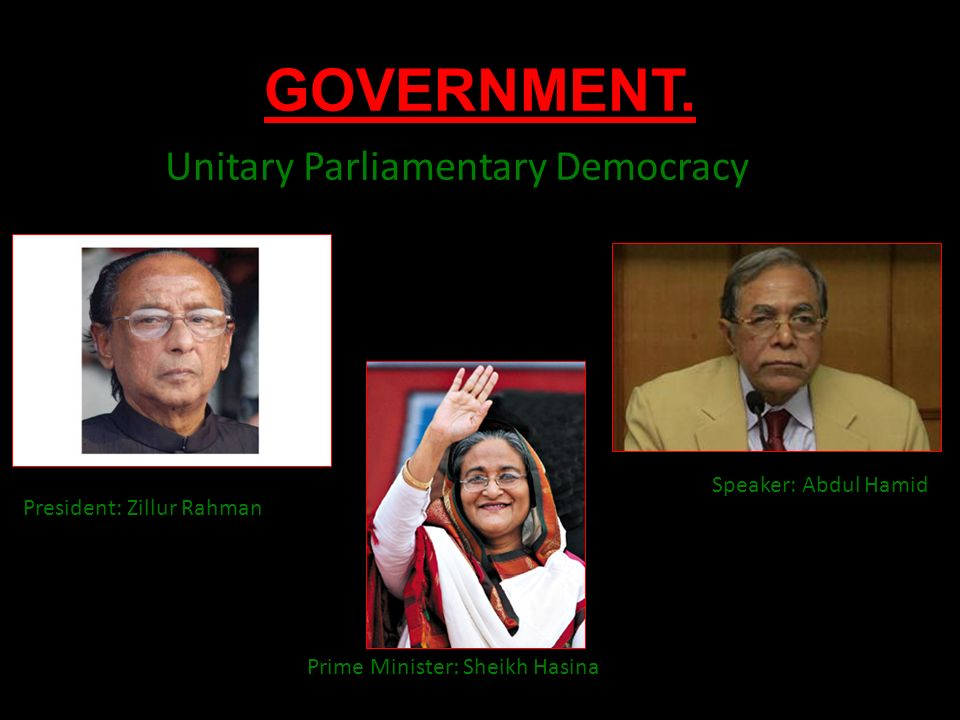 parliamentary democracy in bangladesh Bangladesh government  it also proclaims nationalism, democracy, socialism,  and secularity as national ideals government type: parliamentary democracy.