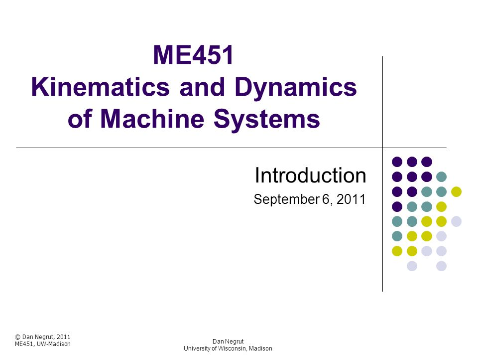 dynamics of machine Nptel provides e-learning through online web and video courses various  streams.