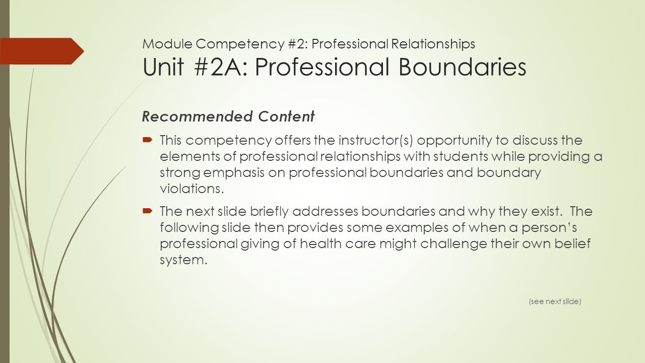 nursing concept analysis professional boundaries Respecting boundaries — the don'ts of dual relationships by to professional boundaries are given thoughtful analysis and the social worker.