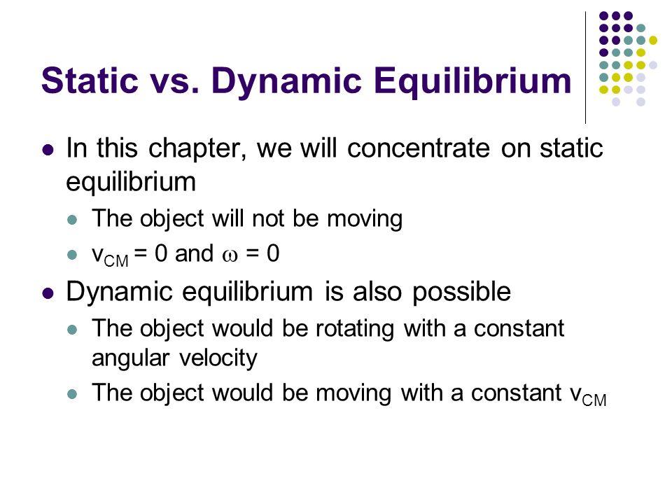 Dynamic equilibrium physics