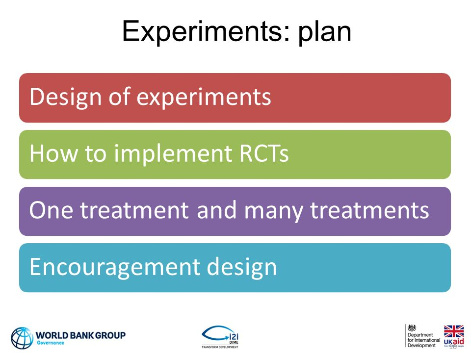 Measuring impact 1 non experimental methods 2 experiments ppt video online download for How to plan and design an experiment