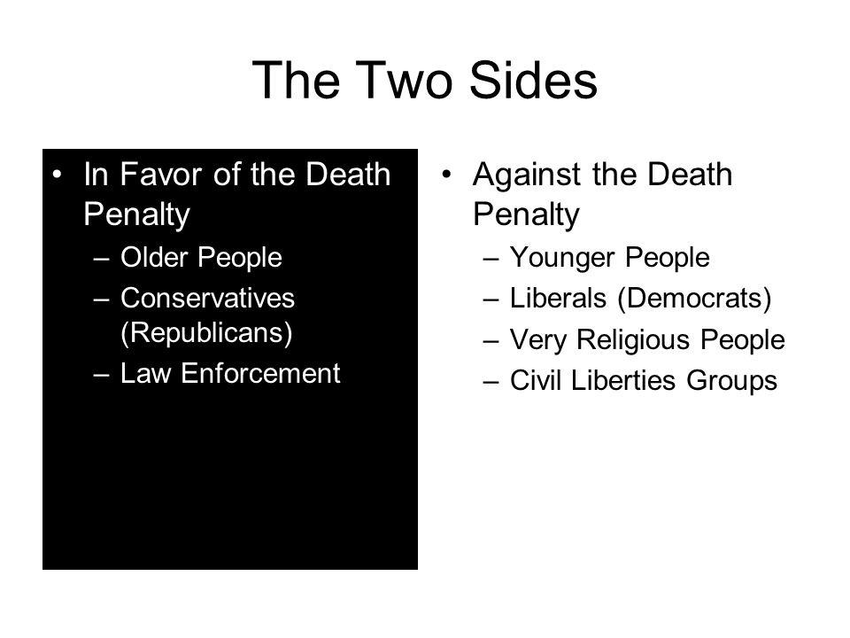 the fight in favor of death penalty I will fight as well as i can for both sides and let you readers make your own  decision after hearing each argument my goal in this series is to shed light on  both.