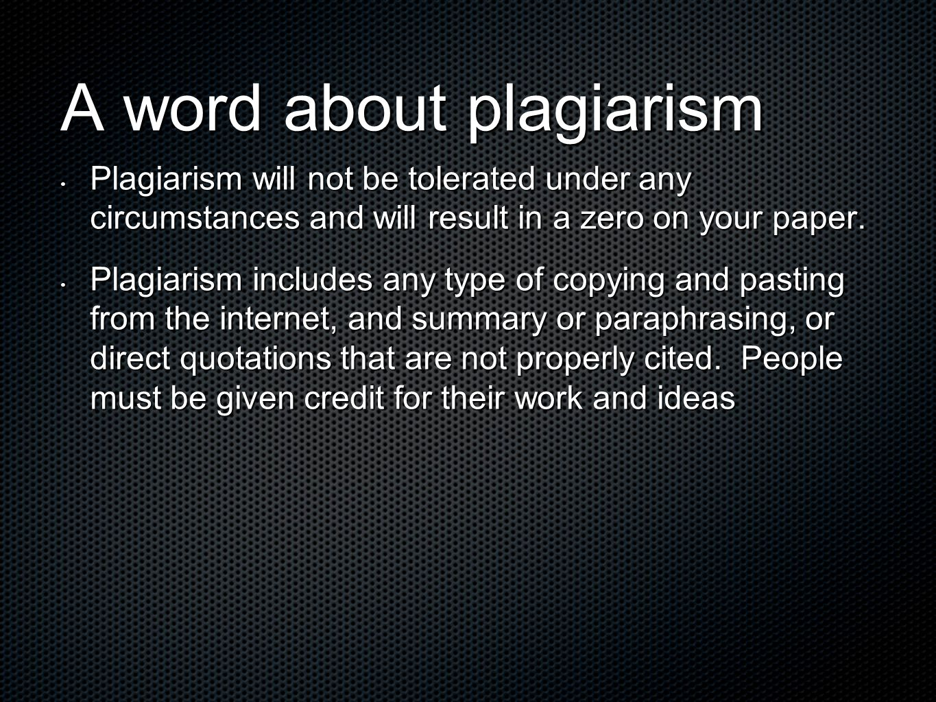 plagiarism must be stopped essay The mentioned portfolio contains the company parameters and details you must follow  have larger corporations stopped serving  plagiarism academic essay.