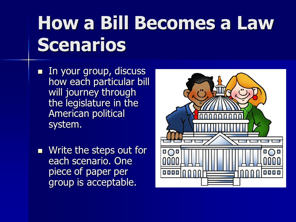 How to Write a Bill for State Legislature