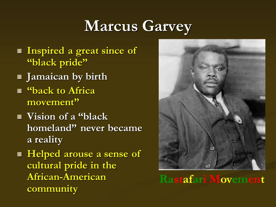 "marcus garvey back to africa essay Marcus garvey, the father of african nationalism marcus garvey papers africa for the marcus garvey's ""back to africa"" program was based upon two major."
