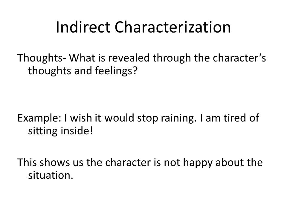 character and characterization Name: _____ characterization worksheet 1 directions: read a short description of an event identify a character trait that is revealed by each.