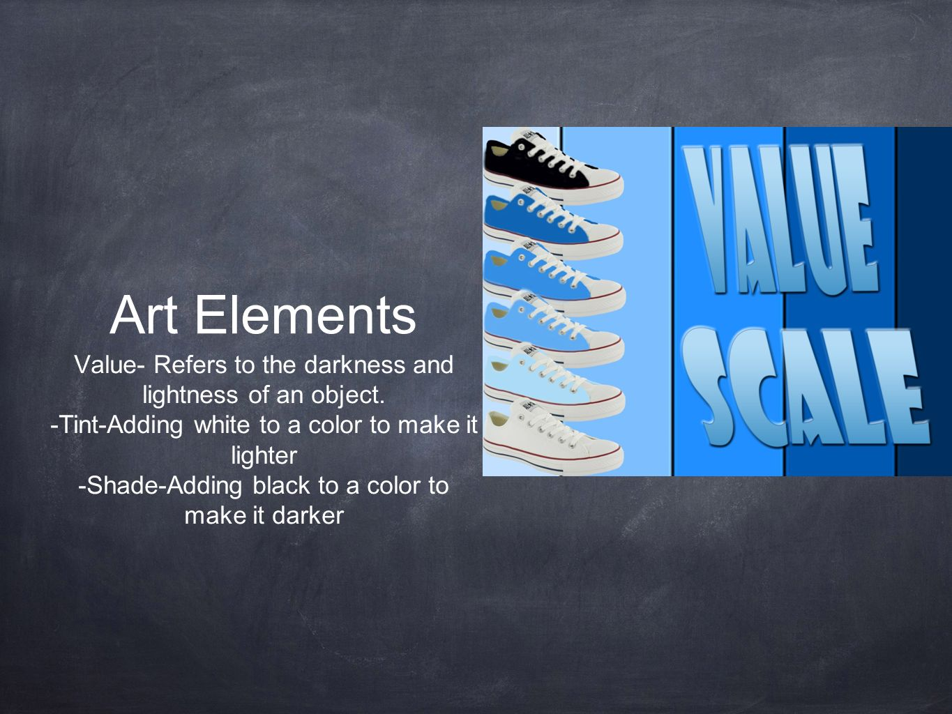 8 Art Elements : Elements of art the are building blocks used