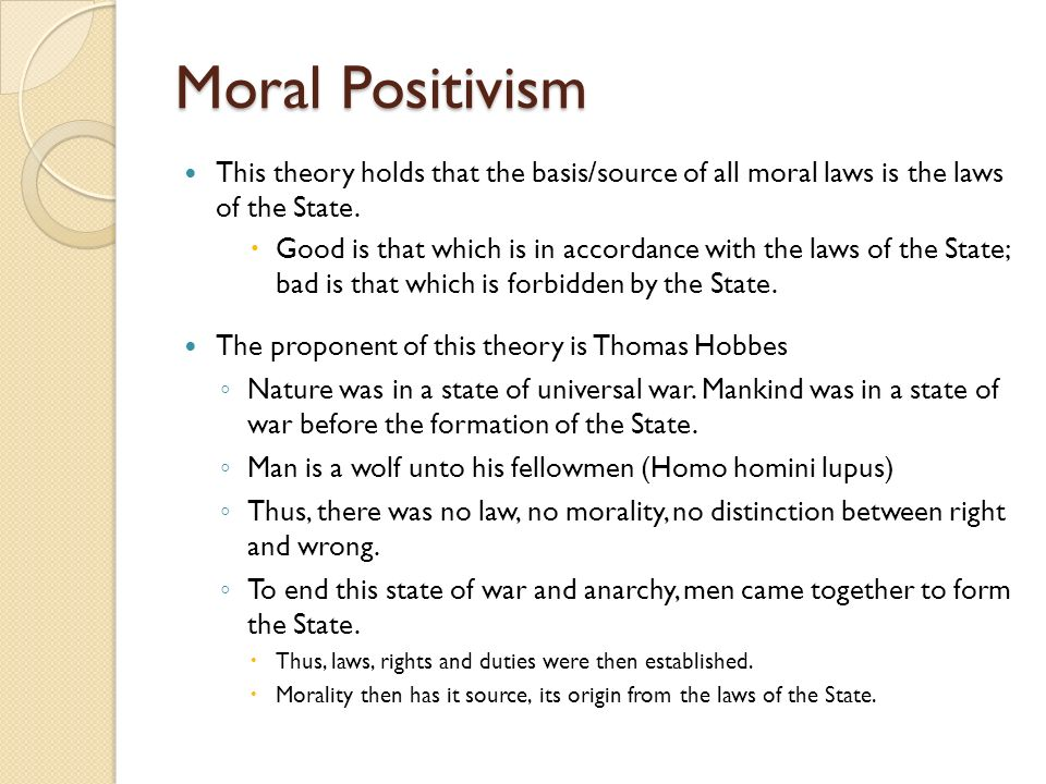 source thesis legal positivism So inclusive legal positivists can still maintain the thesis that there is no  necessary  simple systems with one source of law will have a simple rule of.