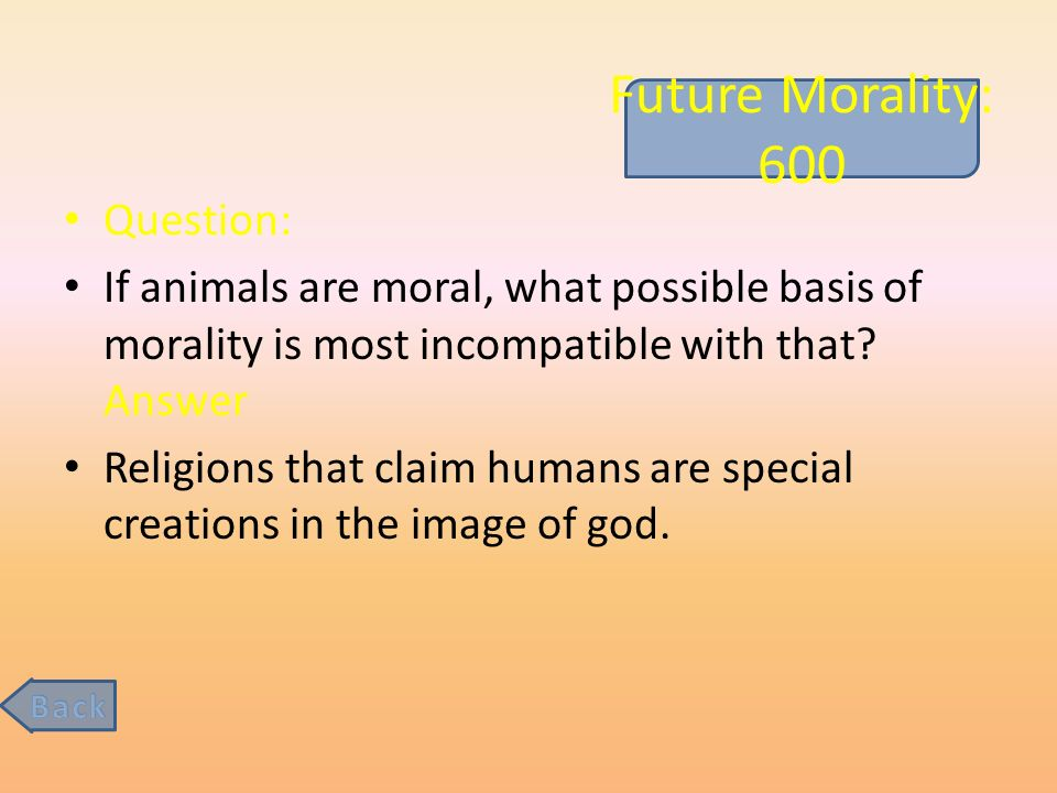 the questions and meaning of morality Moral theories are large and complex things definitions are not the question of  the definition of morality is the question of identifying the target.