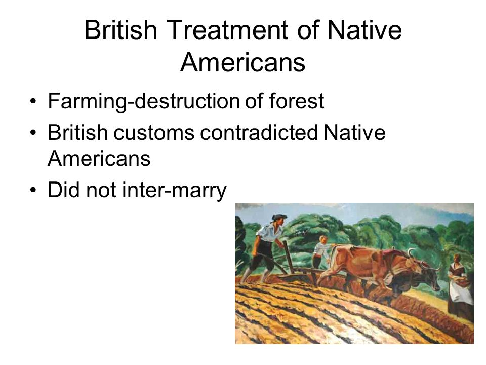 treatment of american indians The plight of american indians represents not a crime, but a tragedy.