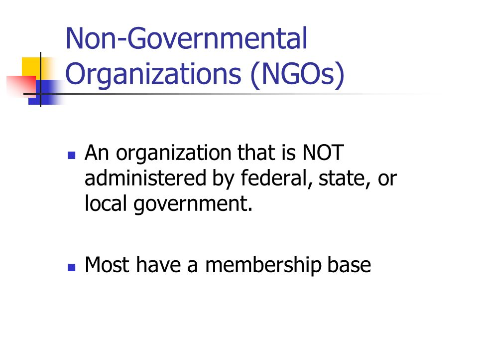 non governmental organisations Directory of non governmental organizations in guyana address, telephone, mission and objective.
